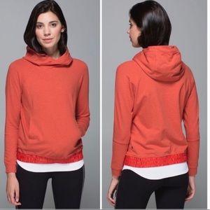 Lululemon All Good Heathered Alarming Pullover